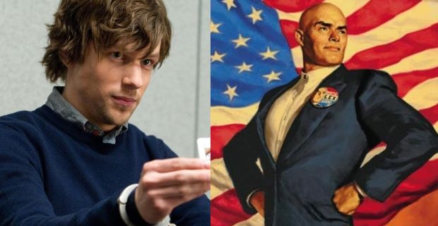 Lex Luthor Jesse Eisenberg Batman Superman Discussion Jesse Eisenberg As Lex Luthor: Why It Could Work