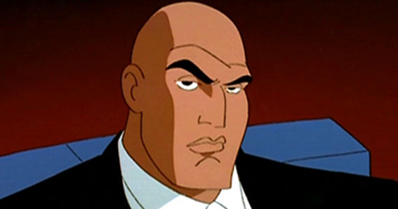 Lex Luthor Superman the Animated Series Dwayne Johnson Confirms DC Movie Talks; Joining Batman vs. Superman?