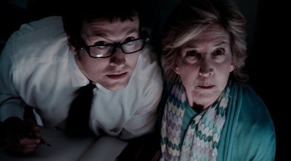 Lin Shaye and Leigh Whannell in Insidious Insidious Interview: Lin Shaye