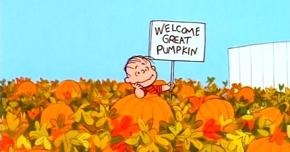 Linus in Its the Great Pumpkin Charlie Brown 9 Videogames, TV Shows & Movies To Get You In the Halloween Spirit