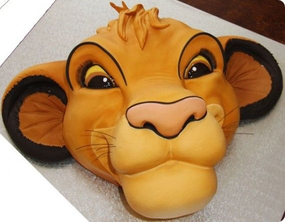 Lion King Cake1 570x445 SR Geek Picks: Disneys Game of Thrones, Stop Motion Dragon Ball Z & More