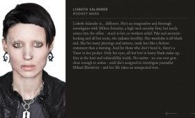 Lisbeth Salander in Girl With the Dragon Tattoo 280x170 Girl With the Dragon Tattoo: Character Profiles & Score Samples