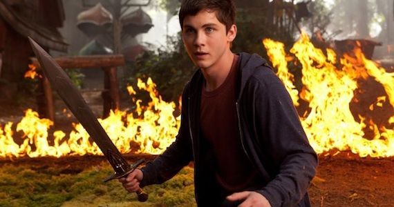 Logan Lerman Percy Jackson Sea of Monsters Percy Jackson: Sea of Monsters Review