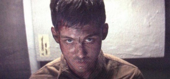 Logan Lerman in Fury 570x265 Logan Lerman in Fury