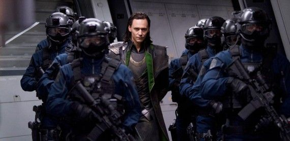 Loki Captured SHIELD The Avengers 570x278 Loki Unlikely To Be A Villain in The Avengers 2
