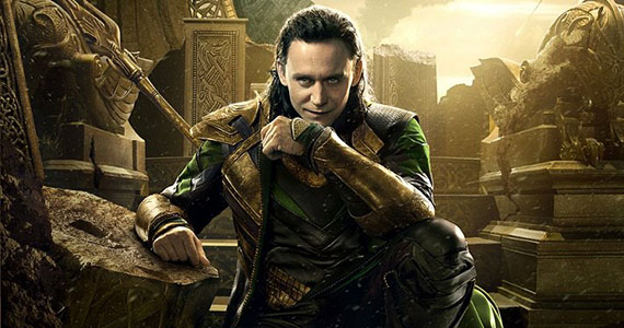 Loki Character Poster Thor The Dark World Thor 2 Set Interview: Tom Hiddleston Laughs About Loki