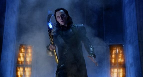 Loki Tom Hiddleston in The Avengers The Avengers Review