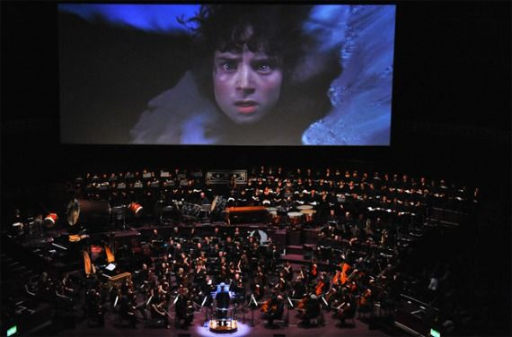 Lord of the Rings score symphony orchestra Howard Shore Returning To Score The Hobbit