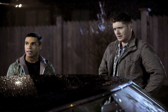 Lucien Laviscount and Jensen Ackles in Supernatural Bloodlines 570x379 Lucien Laviscount and Jensen Ackles in Supernatural: Bloodlines