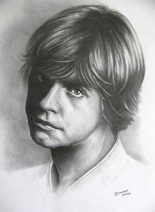 Luke Skywalker Portrait Luke Skywalker Portrait