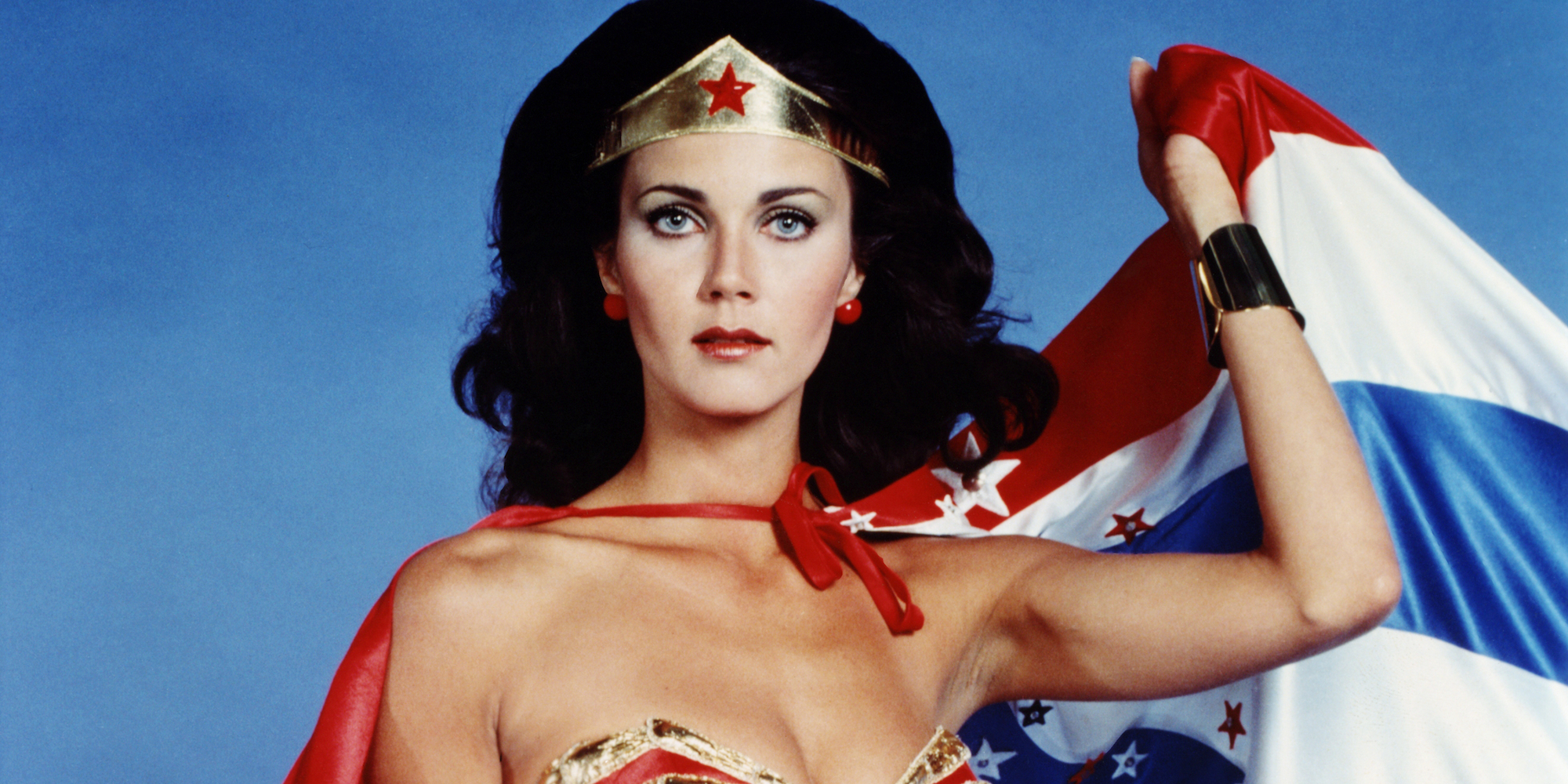 Lynda Carter Wonder Woman President