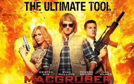 MacGruber poster e1274376142465 MacGruber Team Talks 80s Action Flicks & Celery Abuse