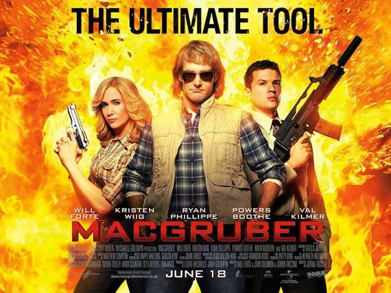 MacGruber poster New MacGruber Clips are Highly Explosive
