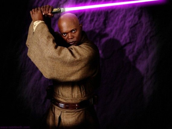 Mace Windu Wallpaper Samuel L Jackson 570x427 Mace Windu Wallpaper (Samuel L Jackson)