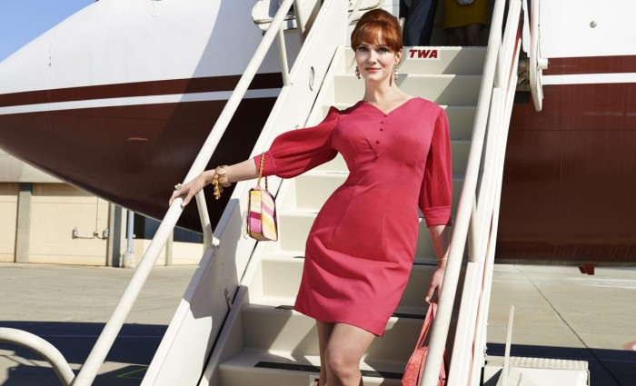Mad Men Season 7 Joan 700x425 Mad Men Final Season Promo Images: Leave the World Behind