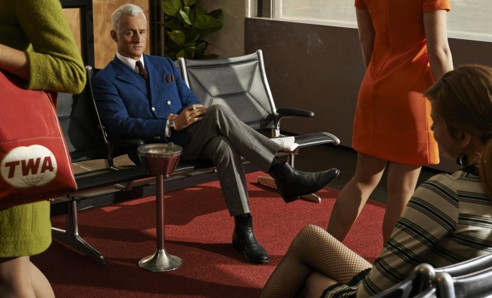 Mad Men Season 7 Roger 700x425 Mad Men Final Season Promo Images: Leave the World Behind
