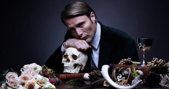 Mads Mikkelsen is Hannibal Lecter in promotional image for Hannibal Hannibal Season 2 Details and More Revealed at Comic Con Panel