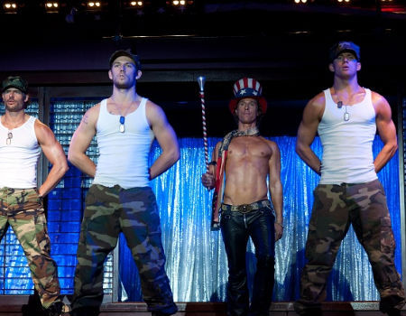 Channing Tatum and the Cast of Magic Mike