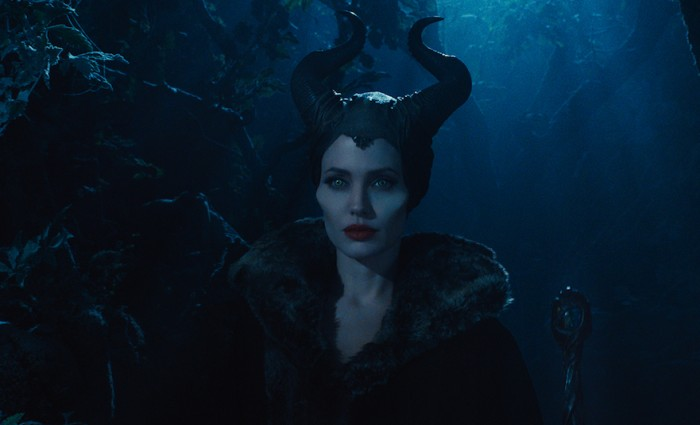 Maleficent in the Woods 700x425 Maleficent Hi Res Images Bring Sleeping Beauty to Life