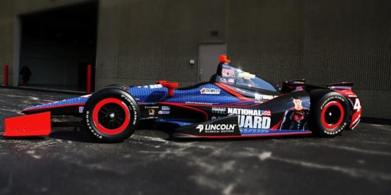 Man Of Steel Indy Car