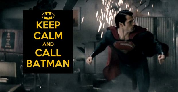 Man of Steel Easter Egg Keep Calm Call Batman Man of Steel Easter Eggs, Trivia & References