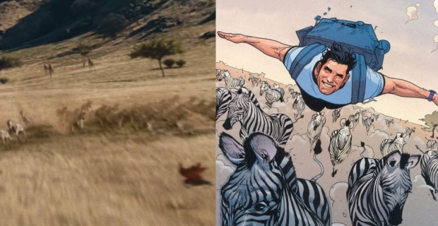 Man of Steel Easter Egg Zebra Birthright Man of Steel Easter Eggs, Trivia & References