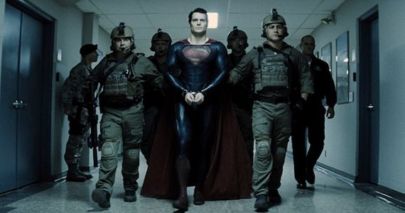 Man of Steel Superman Arrested Why Man of Steel is the Best Superhero Movie of 2013