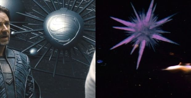 Man of Steel Superman Spaceship Easter Egg Man of Steel Easter Eggs, Trivia & References
