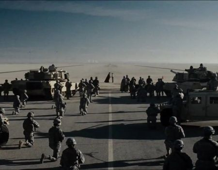 Man of Steel Trailer Desert Scene