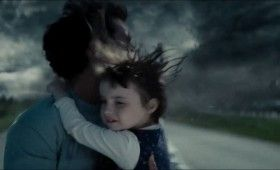 Man of Steel Trailer Images Clark Kent Escaping Tornado with Child In Arms 280x170 Man of Steel Trailer: The Epic Origin of Superman (Plus 48 Images)