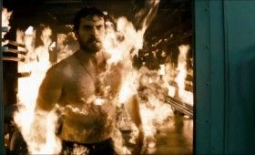 Man of Steel Trailer Images Clark Kent on Fire 280x170 Man of Steel Trailer: The Epic Origin of Superman (Plus 48 Images)