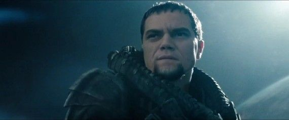 Man of Steel Trailer Images Michael Shannon as General Zod 570x237 Man of Steel Trailer Images   Michael Shannon as General Zod