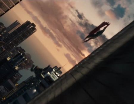 Man of Steel Trailer Superman Zod Fight