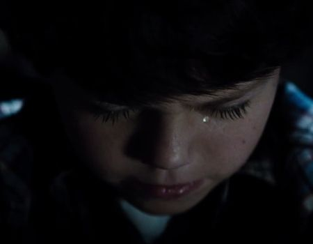 Man of Steel Trailer Young Clark Crying