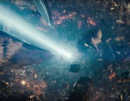 Man of Steel Trailer Zod Gravity Beam