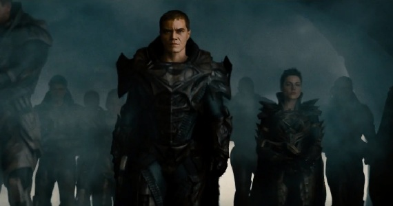 Man of Steel Zod and Friends New Man of Steel Trailer: General Zod Threatens Earth
