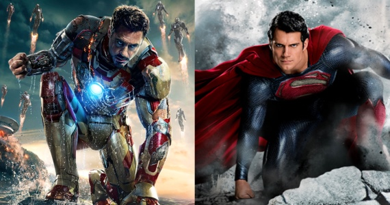 Man of Steel vs Iron Man 3 Man of Steel Director Says DCs Heroes Are Purer Than Marvels   Do You Agree?
