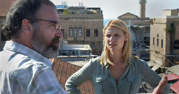 Mandy Patinkin and Claire Danes in Homeland Beirut is Back Homeland Season 2, Episode 2: Beirut Is Back Recap