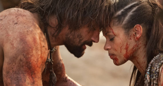 Manu Bennett and Cyntia Addai Robinson in Spartacus WOTD Separate Paths Spartacus: War of the Damned Episode 8 Review – The Appearance of Control