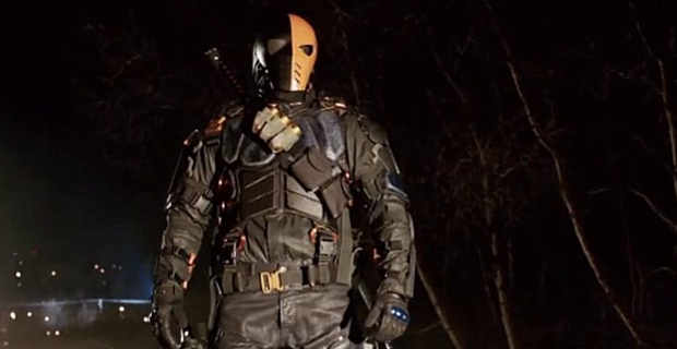 Manu Bennett in Arrow Season 2 Episode 18 Arrow: Slade Runs A Real Tight Ship