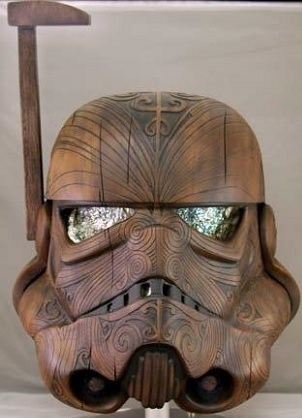 Maori Carving Stormtrooper Helmet SR Geek Picks: Internet Things We Dont Understand, Bunnies In Movies & More