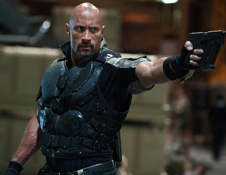 March 2013 Preview GI Joe Retaliation Interview: Dwayne Johnson Bonded with Sergeant Slaughter for G.I. Joe 2; Talks Hercules