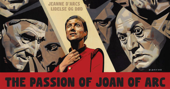 Maria Falconetti in The Passion of Joan of Arc Moulin Rouge! Writer Developing Joan of Arc Series