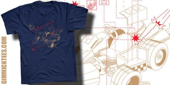 Mario Kart Blueprint 570x285 SR Geek Picks: Disneys Game of Thrones, Stop Motion Dragon Ball Z & More