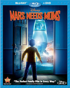 Mars Needs Moms DVD Blu ray DVD/Blu ray Breakdown: August 9, 2011