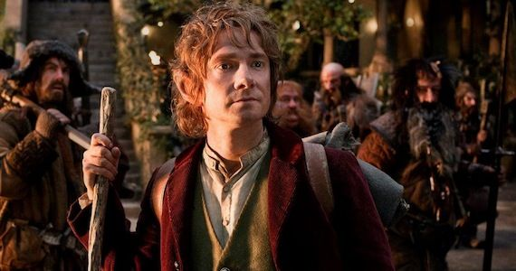 Martin Freeman Bilbo The Hobbit The Hobbit: An Unexpected Journey Review