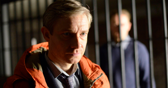 Martin Freeman in Fargo Episode 7 Fargo: Lets Just Say Theres a Lot of Blood