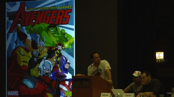 Marvel Animation C2E2 panel Avengers Earths Mightiest Heroes C2E2: Marvel Animation Panel