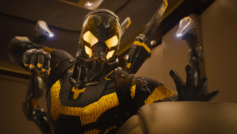 Yellow jacket - Paul Rudd Corey Stoll Talk Ant Man Yellowjacket Costume Differences