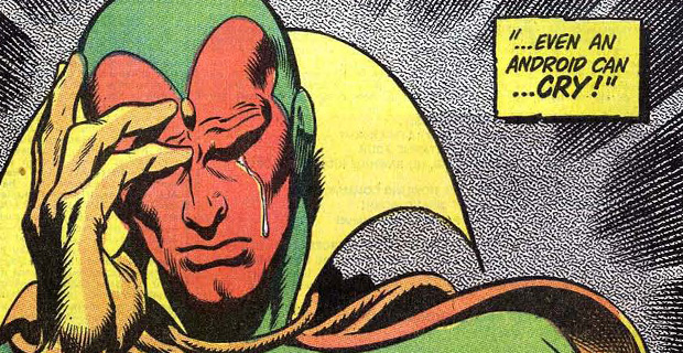 Marvel Comics Vision Crying Rumor Patrol: The Avengers: Age of Ultron Plot and Character Details